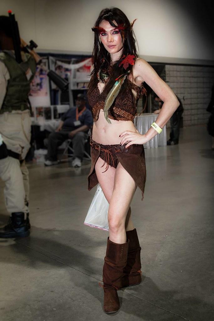 Cosplay Female Elf  Long Beach Comic Con 2012  Female