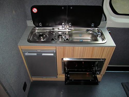 Kitchen Pod  Kitchen Pod with Smev Hob  Sink Waeco CR50