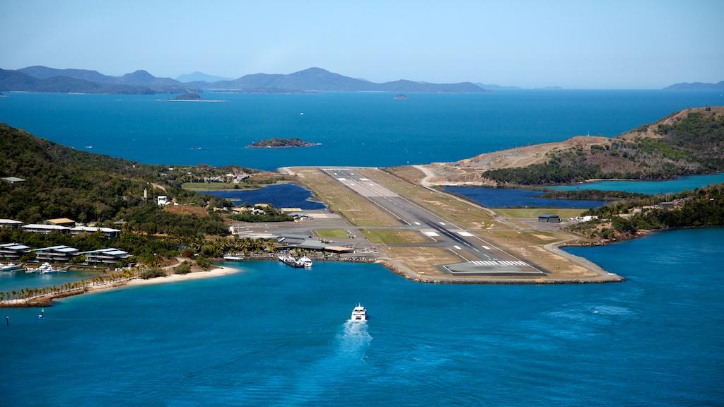 Hamilton Island Airport  Hamilton Island boasts an