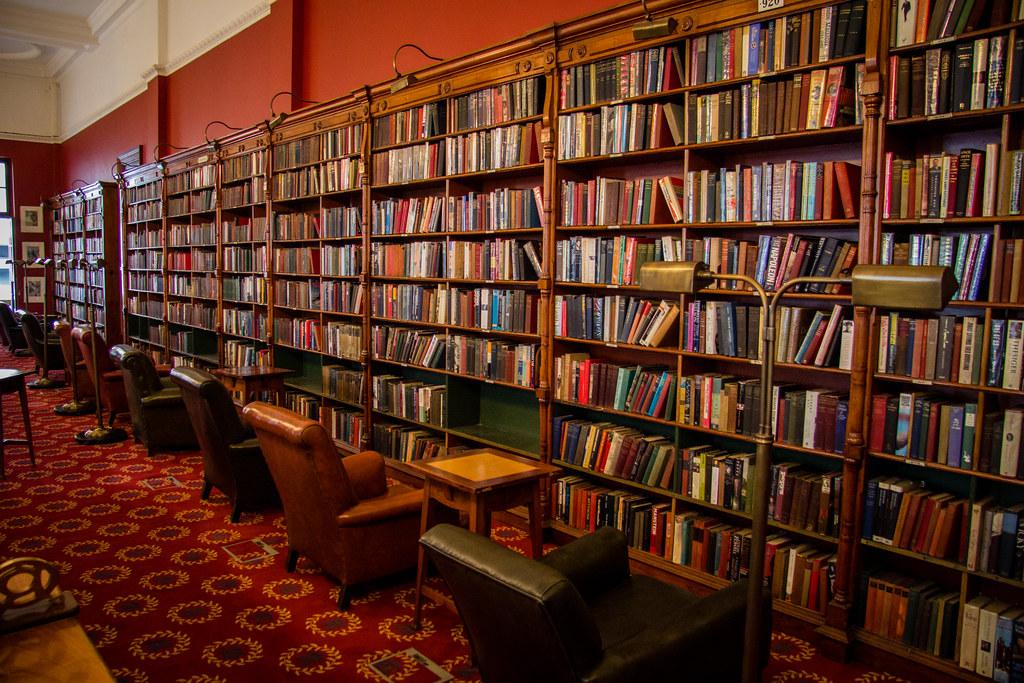 Library  Reading Room  Rand Club  Johannesburg  Andrew