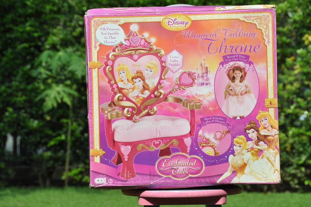 26 Magical talking throne chair  Little princess will