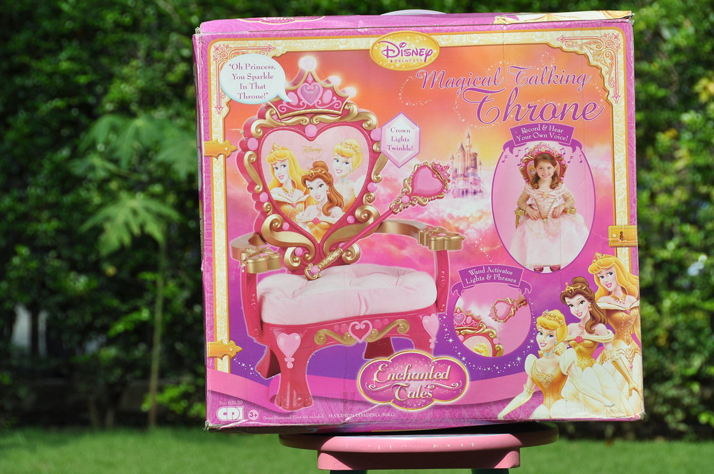 disney princess chair metal bistro chairs outdoor 26. magical talking throne (chair) | little will re… flickr