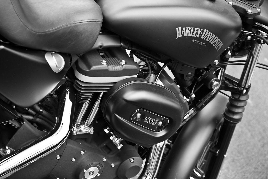 Moto Wallpaper 3d Harley Davidson Sportster Iron 883 Nestor Flickr