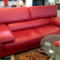 0 Sofas To Buy Roche Bobois Red Leather Sofa | ...