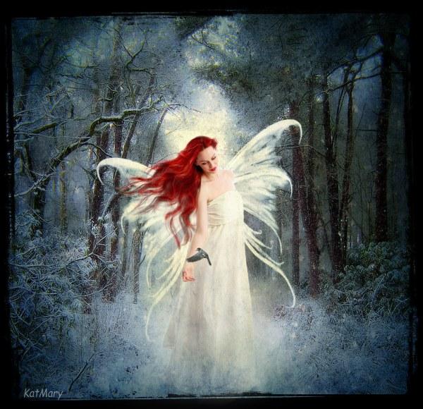 Winter Fairy Art