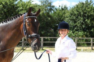 Claire Galer of Derriere Equestrian