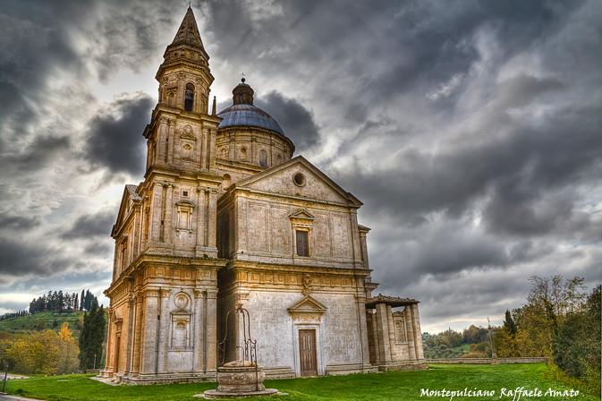 Montepulciano Tuscany Italy  Church of St Blaise  Flickr
