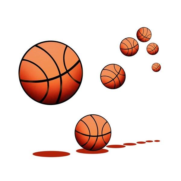 Bouncing Basketball Clip Art