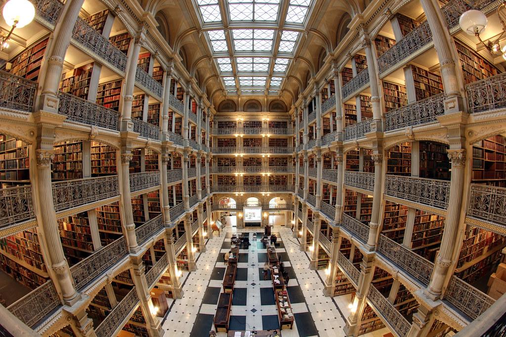 George Peabody Library  Matthew Petroff  Flickr