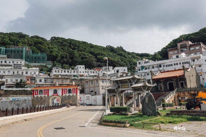 10|如白城一般的西莒港口風貌