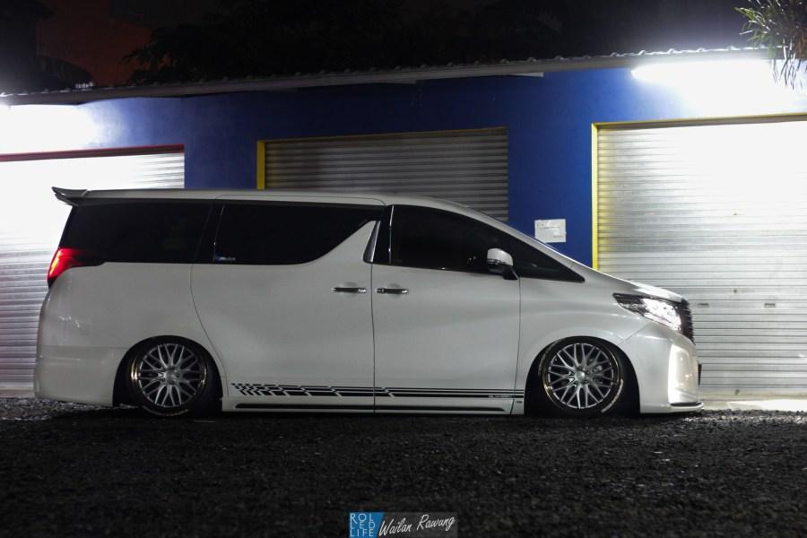 Kikianugraha Slammed Toyota Alphard-7