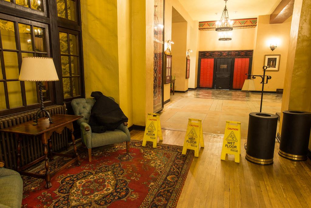 The Overlook Hotel Elevators Wet Floor The Ahwahnee Hote Flickr