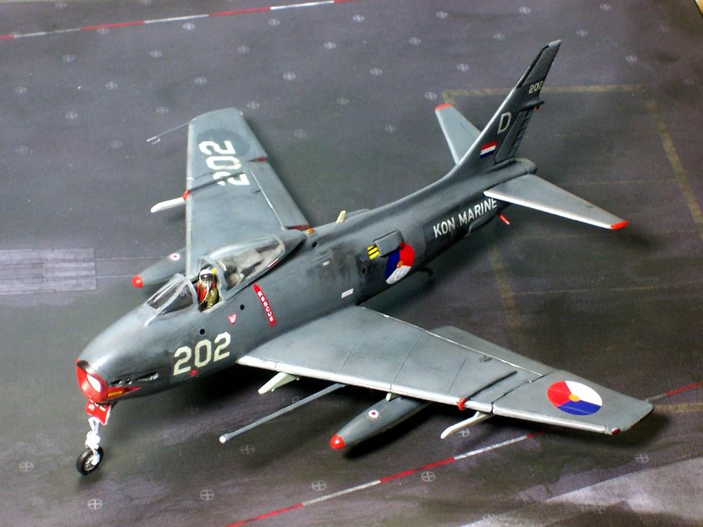 172 North American FJ4B Fury aircraft 202 860th Sq  Flickr