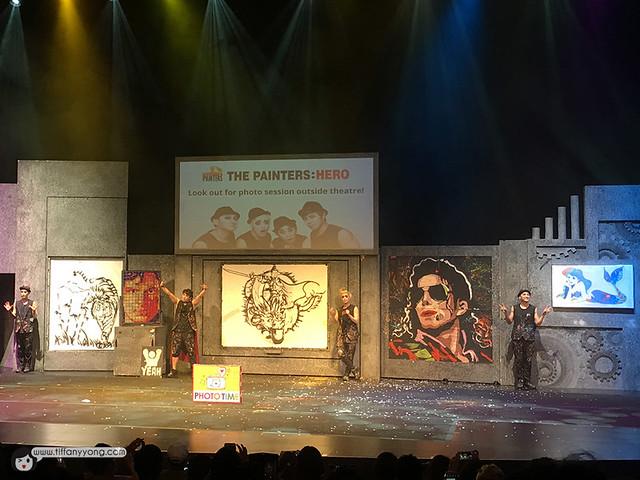 The Painters Hero Korean Performance