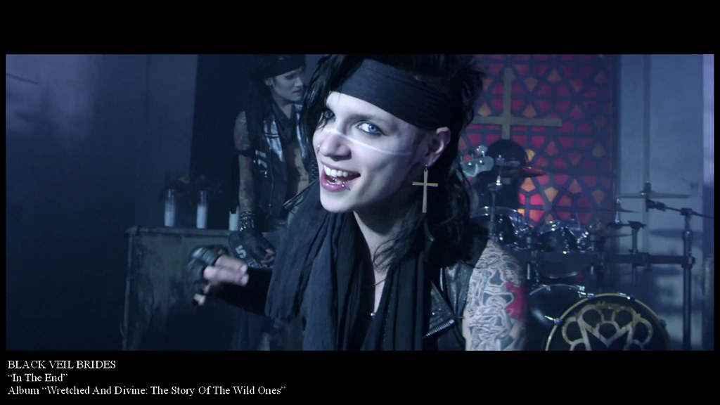 BLACK VEIL BRIDES In The End screen capture 1366x768 H
