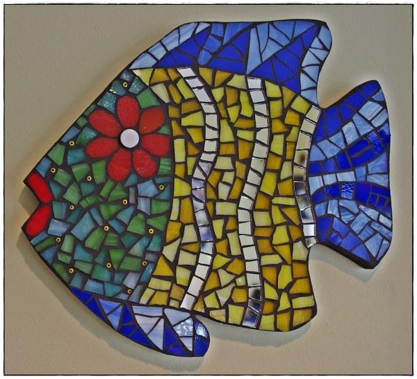 Mosaic Fish Mdf Base Cut