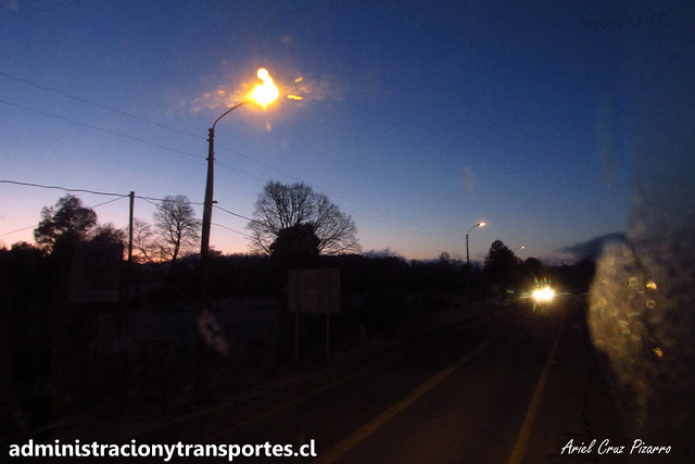 Amanecer camino a Lican Ray / BDHB33