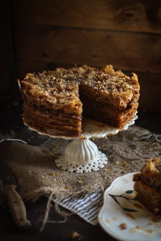 Baklava Cake Www Adventures In Cooking Com 2013 03