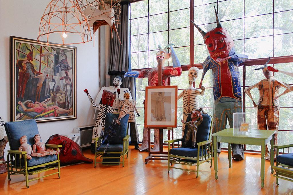 House Studio Of Diego Rivera And Frida Kahlo Ciro Miguel
