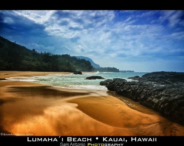 Lumahai Beach Kauai Hawaii