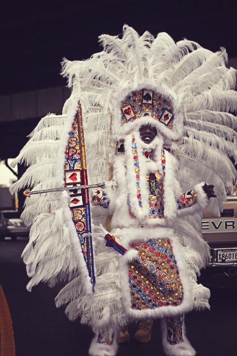 Mardi Gras Indians 2013  Trem New Orleans  Please