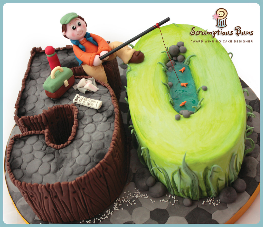 No 50 Fishing Cake Visit My Website Or Follow Me On