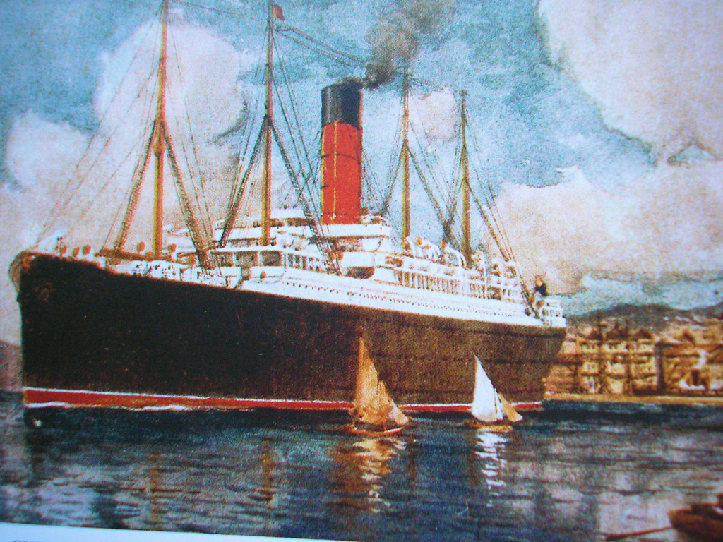 RMS Carpathia color  RMS Carpathia was a Cunard Line