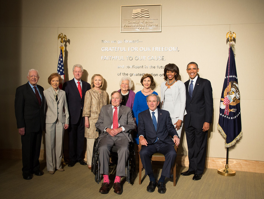 All Five Living Presidents Of The United States