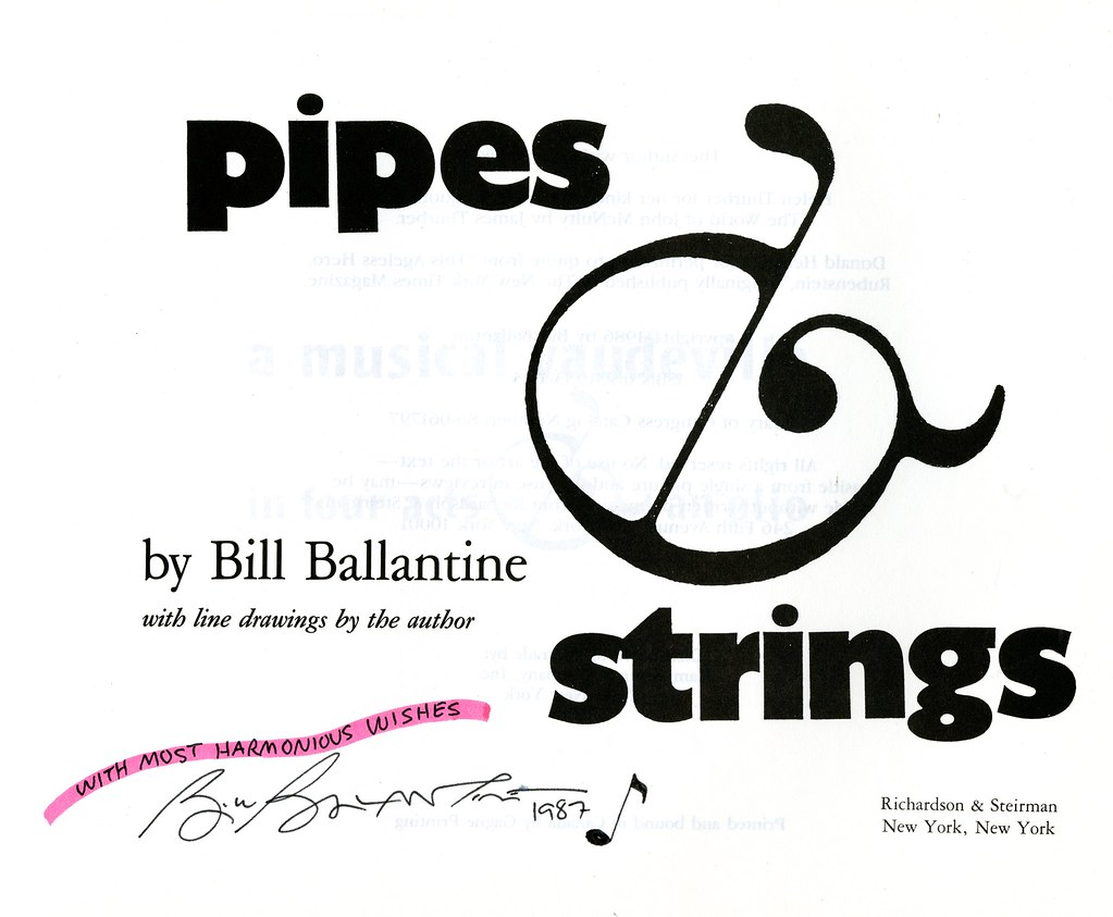 Pipes Strings The History & Romance of Musical Instruments