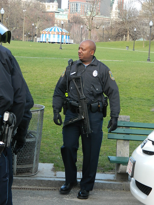 Wellesley MA Police Officer with UMP45  Cerebralzero  Flickr