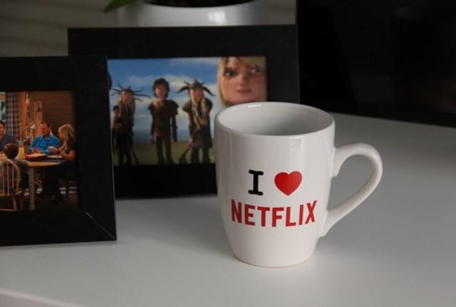 Un café con Netflix