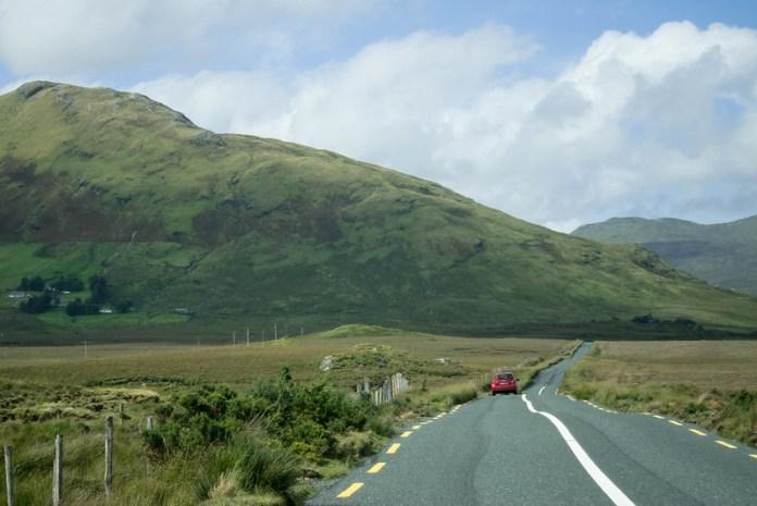Rural Irish road, Co. Galway