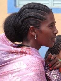 Ethiopian Hairstyle Braids | Fade Haircut