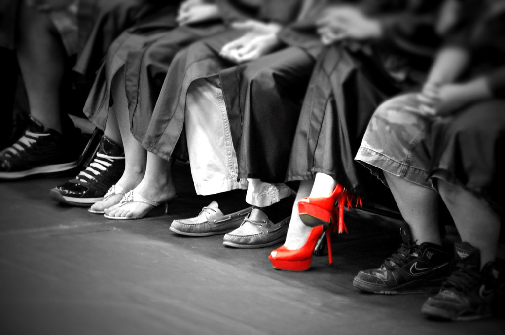 Red Shoe  David Reber  Flickr