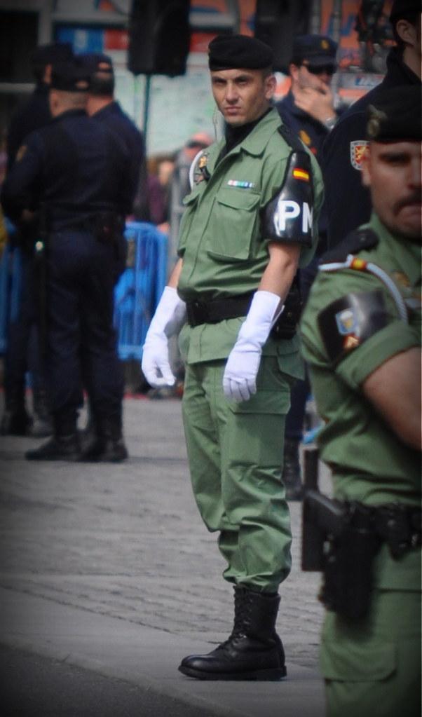 Polica Militar  Brigada Paracaidista  Bripac