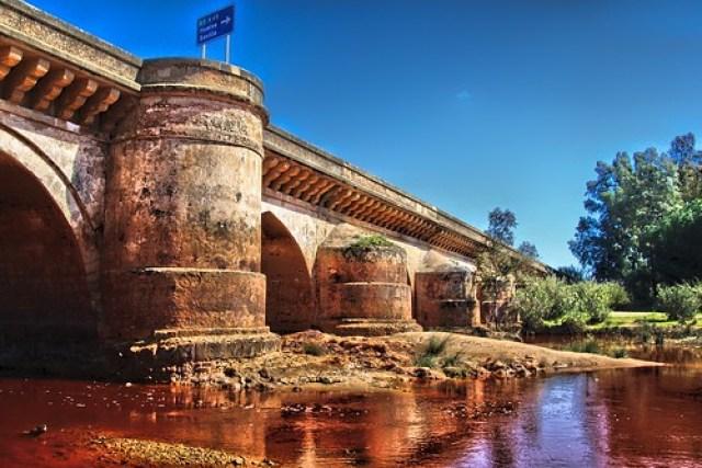 Puente romano sobre el río Tinto en Niebla - 2