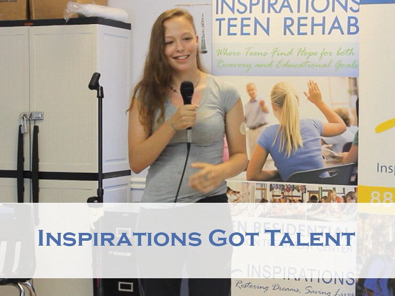 inspirations adolescent drug rehab talent show