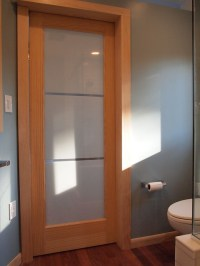 Bathroom - pocket door | Flickr - Photo Sharing!