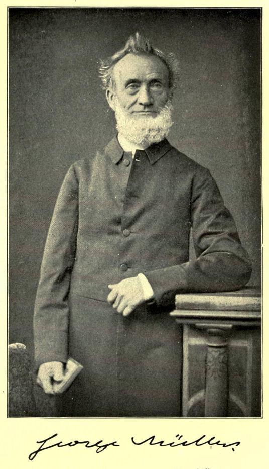 George Mller Portait Of George Mller 1805 1898 Of