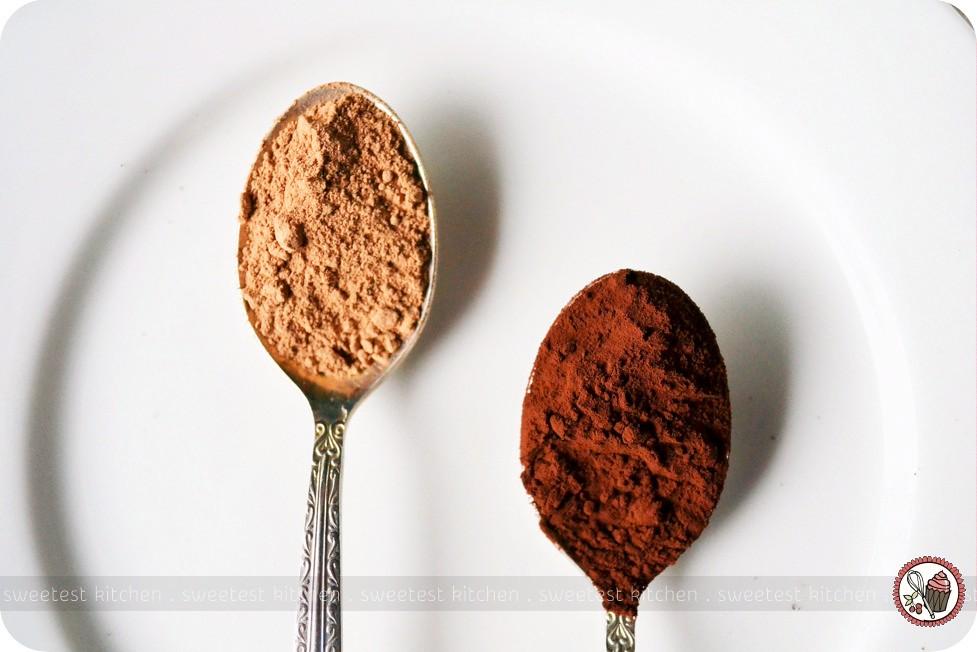 Valrhona Cocoa Powder vs Cadbury Cocoa Powder  Although