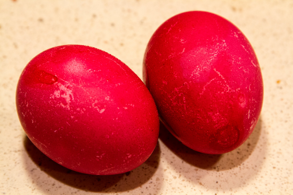 Chinese Red Egg  In chinese culture parents celebrate