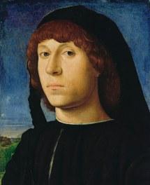 Antonello Da Messina - Portrait Of Young Man 1478