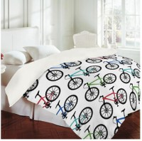 DENY Bicycle sheet set | Cool bicycle pattern sheet set ...