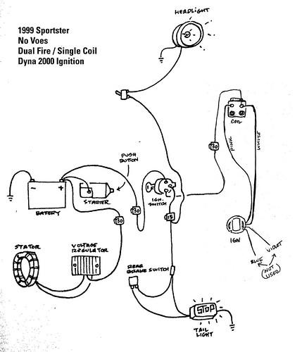 Dayna 2000i Shovelhead Wiring Diagram
