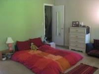 Master Bedroom (Green Accent Wall) & Closet Door   Jenny ...