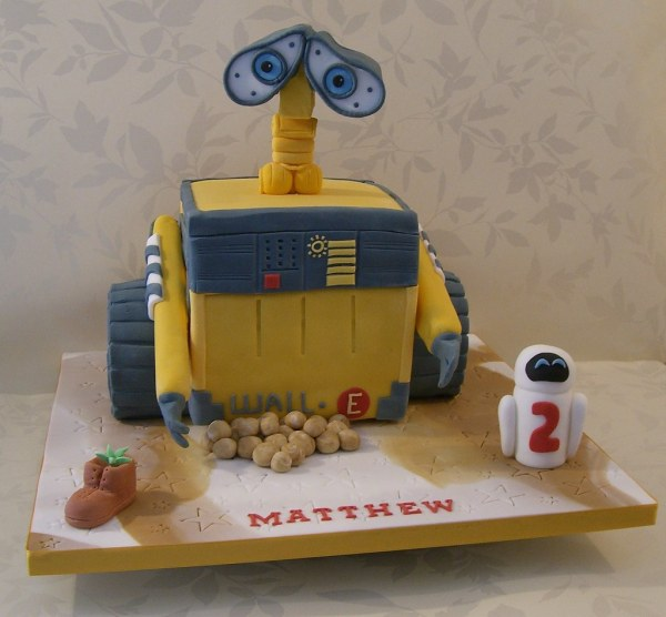 20 Wall E Cake Ideas Pictures And On Weric