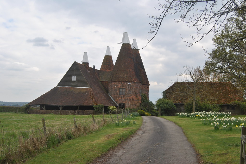 Oast House Chiddingstone Kent  An Oast House is a building   Flickr