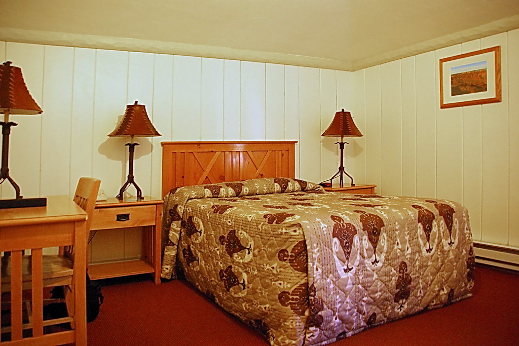 Buckey Lodge Room 6107  Bright Angel Lodge  Grand Canyon