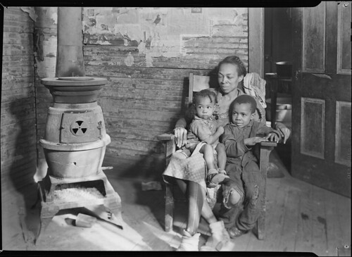 Scott's Run, West Virginia. Johnson family - father unemployed, March 1937