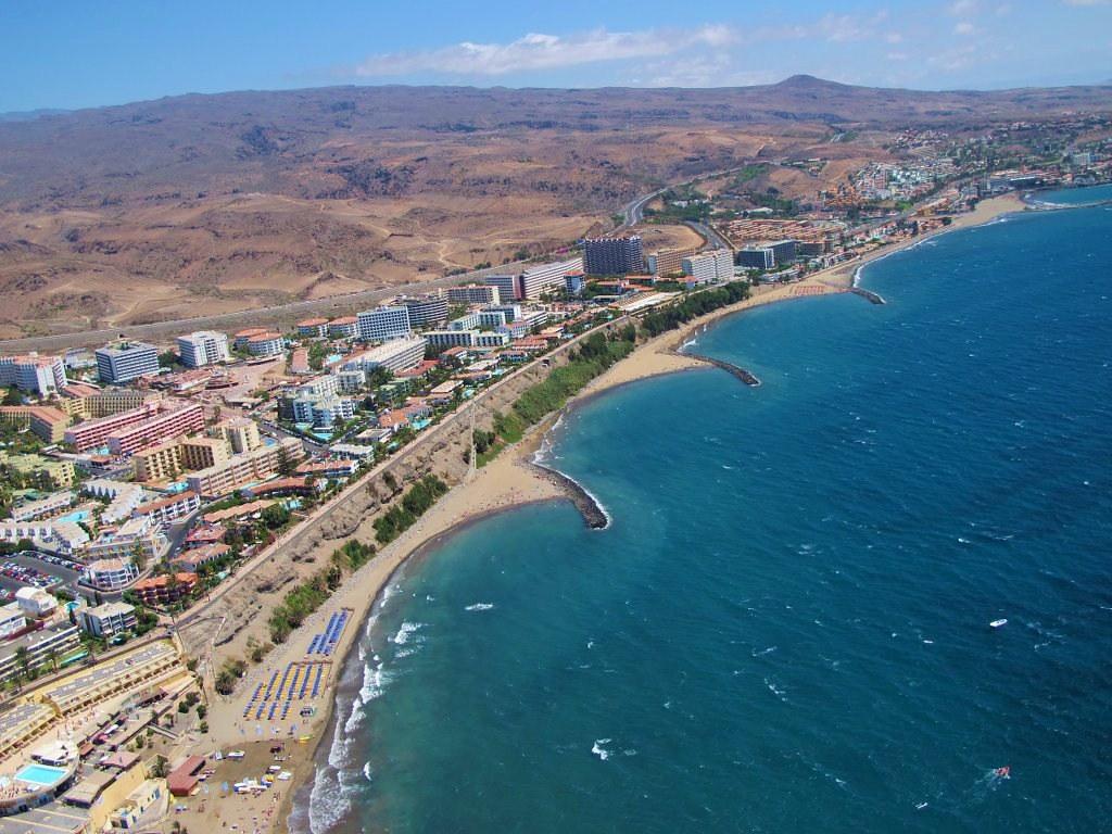 Foto area de Playa del Ingls La Costa Turstica de San